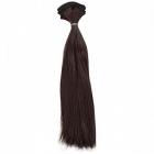 Волосы для кукол (трессы) Элит В-100 см L-27 см 26501 т. шатен 33 554566