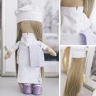 Набор текстильная игрушка АртУзор «Мягкая кукла Повар Селена» 5470961 30 см