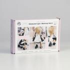 Набор текстильная игрушка АртУзор «Мягкая кукла Школьница Николь» 5470962  30 см