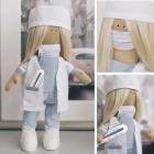 Набор текстильная игрушка АртУзор «Мягкая кукла Доктор Кейт» 5470964 30 см