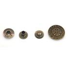 Кнопки 20 мм «Герб» антик 64302