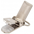 Зажим для подтяжек 20 мм 6641 613528 никель в интернет-магазине Швейпрофи.рф