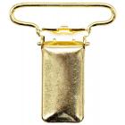 Зажим для подтяжек 30 мм 6648 613529 золото