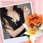 Набор для творчества Школа талантов 1685707 бутоньерка из фоамирана «Оранжевая роза»