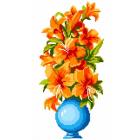 Набор для вышивания Нитекс 2157 «Букет в вазе» 22*32 см