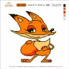 Набор для вышивания Нитекс 2165 «Лисичка» 22*22 см
