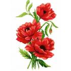 Набор для вышивания Нитекс 2336 «Маки» 22*32 см