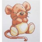 Набор для вышивания Нитекс 2389 «Мышонок» 22*25 см