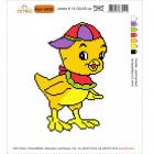 Набор для вышивания Нитекс 2432 «Цыпленок» 22*25 см
