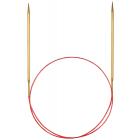 Спицы круговые Addi 100 см 5 мм с удлиненным кончиком