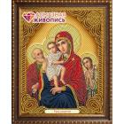 Алмазная мозаика АЖ-5042 «Икона Трёх Радостей» 22*28 см