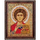 Алмазная мозаика АЖ-1847 «Икона Пантелеймон Целитель» 30*40 см