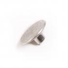 Пуговицы джинс. д.20 мм «Герб» 64341 серебро