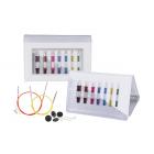 Набор съемных спиц Knit Pro 42161 «Deluxe Set Special IC SmartStix» алюминий 8 видов