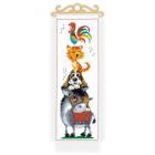 Набор для вышивания Риолис №1862 «Любимые сказки» 20*50 см