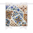 Набор для вышивания Риолис №1871 «Подушка Мозаика» 40*40 см