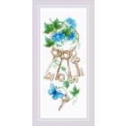 Набор для вышивания Риолис №1929 «Ключи к дому» 13*30 см