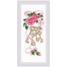 Набор для вышивания Риолис №1930 «Ключи к счастью» 13*30 см