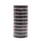 Резинка для бисера 0,6 мм С (уп. 25 м) чёрный уп. 10 рул.