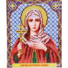 Рисунок на ткани «VIA A5 5028 Св. Мч. Лариса» 13,5*17 см