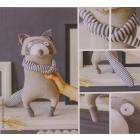 Набор текстильная игрушка АртУзор «Мягкая игрушка енотик Дадли» 3640001 40 см