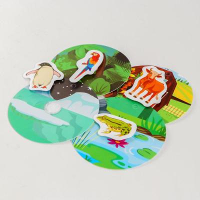 Игрушка развивающая «Веселые липучки. Кто где живет?» 4810610 в интернет-магазине Швейпрофи.рф