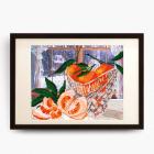 Рисунок на ткани «VKA» 4208 В хрустале мандаринки 20*25 см