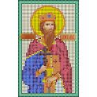 Ткань для вышивания бисером А5 КМИ-5370 «Вячеслав» 10*18 см