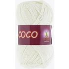 Пряжа Коко Вита (Coco Vita Cotton), 50 г / 240 м, 3853 молоч.