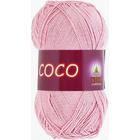 Пряжа Коко Вита (Coco Vita Cotton), 50 г / 240 м, 3866 нежно-розовый