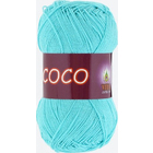 Пряжа Коко Вита (Coco Vita Cotton), 50 г / 240 м, 3867 бирюз.