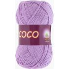 Пряжа Коко Вита (Coco Vita Cotton), 50 г / 240 м, 3869 сирен.