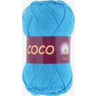 Пряжа Коко Вита (Coco Vita Cotton), 50 г / 240 м, 3878 ярко-голубой