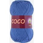 Пряжа Коко Вита (Coco Vita Cotton), 50 г / 240 м, 3879 ярко-синий