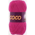 Пряжа Коко Вита (Coco Vita Cotton), 50 г / 240 м, 3885 малинов.