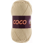 Пряжа Коко Вита (Coco Vita Cotton), 50 г / 240 м, 3889 св.-бежев.