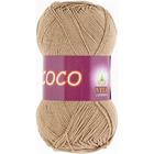 Пряжа Коко Вита (Coco Vita Cotton), 50 г / 240 м, 4312 бежев.