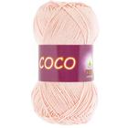 Пряжа Коко Вита (Coco Vita Cotton), 50 г / 240 м, 4317 лососевый