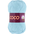 Пряжа Коко Вита (Coco Vita Cotton), 50 г / 240 м, 4323 св.-голубой