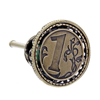 Колокольчик-талисман 1125286 с камнем