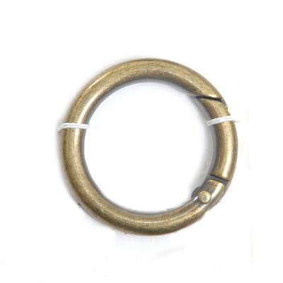 Кольцо разъёмное MB-114 шир. 25 мм бронза в интернет-магазине Швейпрофи.рф