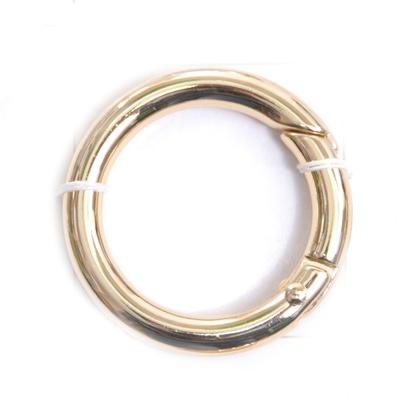 Кольцо разъёмное MB-114 шир. 25 мм золото в интернет-магазине Швейпрофи.рф