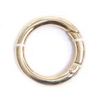 Кольцо разъёмное MB-114 шир. 25 мм золото