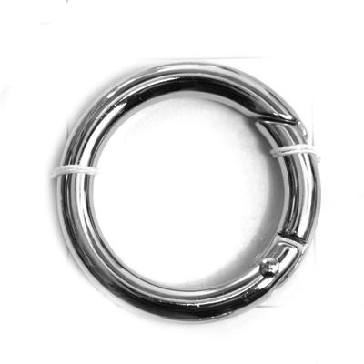Кольцо разъёмное MB-114 шир. 25 мм никель в интернет-магазине Швейпрофи.рф
