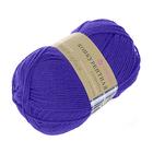 Пряжа Конкурентная, 100 г / 250 м, 078 фиолетовый