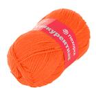 Пряжа Конкурентная, 100 г / 250 м, 189 ярко-оранжевый
