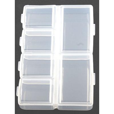 Коробка R542 для мелочей 6 отделений 9,5*6,5*2 см в интернет-магазине Швейпрофи.рф