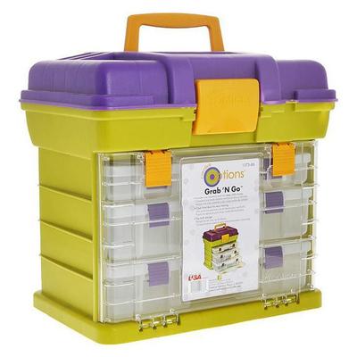Контейнер HP 992997 для мелочей пластм. 137386 система с 4 ящиками 42*30*40 см в интернет-магазине Швейпрофи.рф