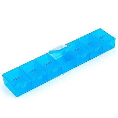 Контейнер HP 930507 для мелочей пластм. 7 секций 23*4,7*3 см в интернет-магазине Швейпрофи.рф