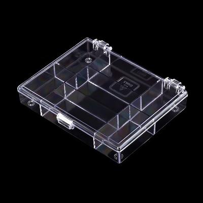 Контейнер HP 930520 для мелочей пластм. 7 секц. 11,8*9,1*2,1см в интернет-магазине Швейпрофи.рф